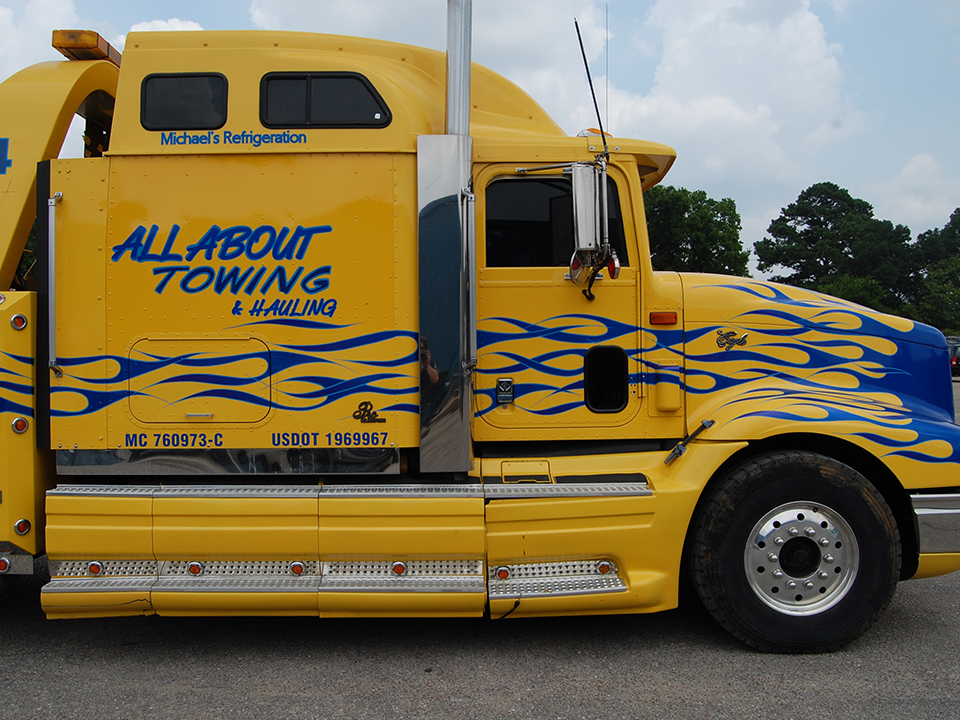 Home All About Towing Alabama Towing